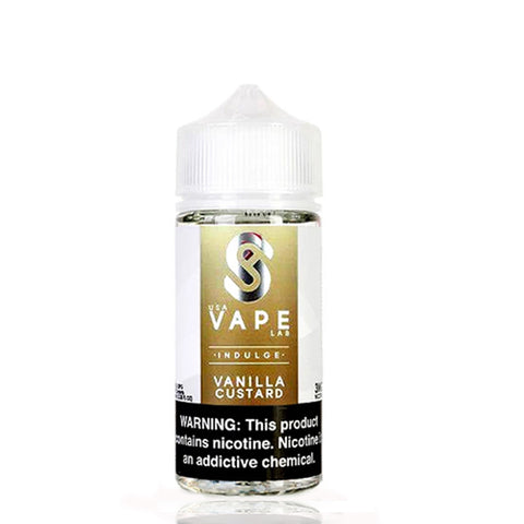 USA Vape Labs Vanilla Custard E-liquid (100ML)