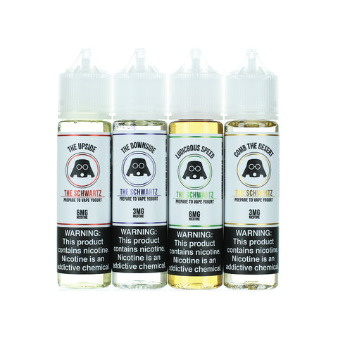 The Schwartz Yogurt E-liquid Collection (60ML)