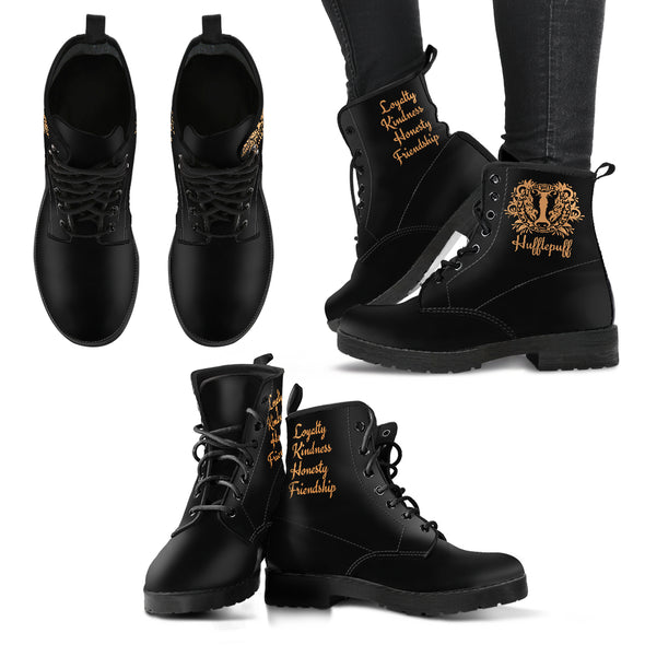 Women's Leather Boots - Hogwarts Houses