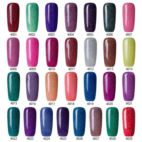 High Fashion Neon Nail Gel Polish - Soak Off UV - Long-lasting Gel