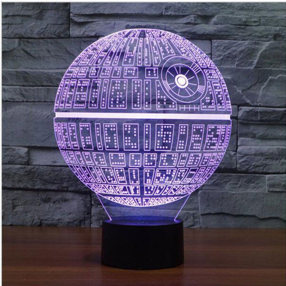 Death Star LED Lamp