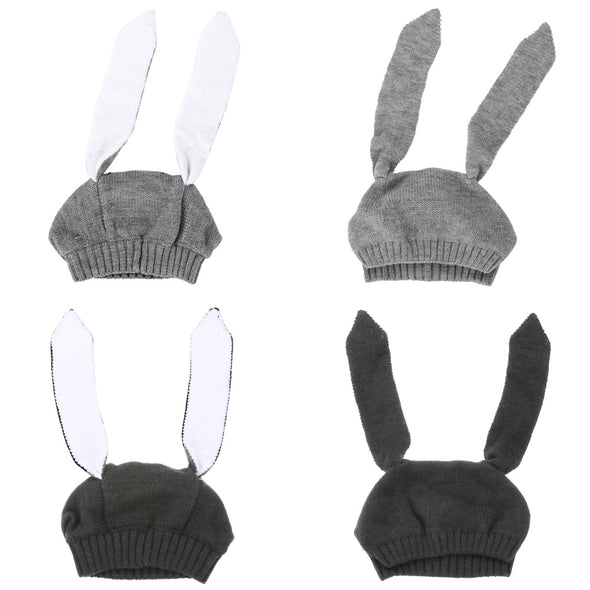 Bunny Ears Baby Knitted Hat