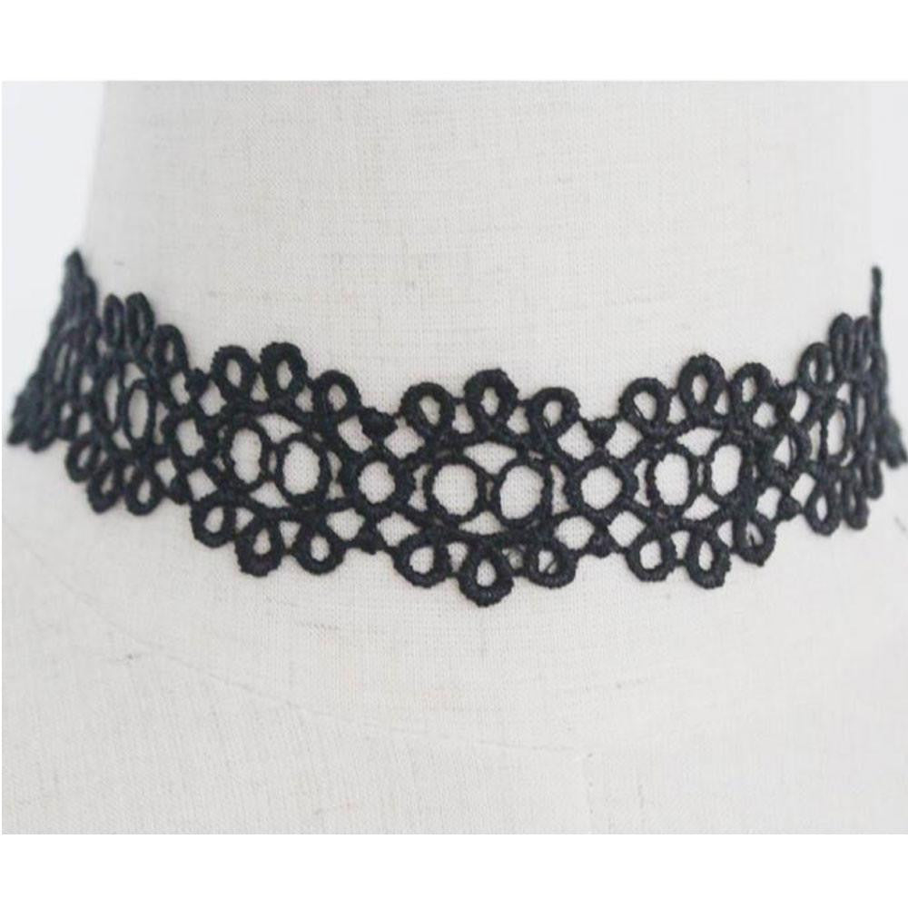 Ready and Waiting Vintage Lace Choker - Style Well Spent