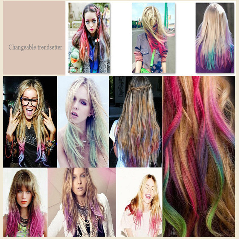 Sws Color Hair Chalk Comb Style Well Spent