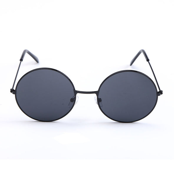 Amy - Retro Classic Mirror Round Sunglasses