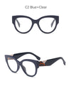 Aphaea Clear - Vintage Designer Brand Cat Eye Glasses
