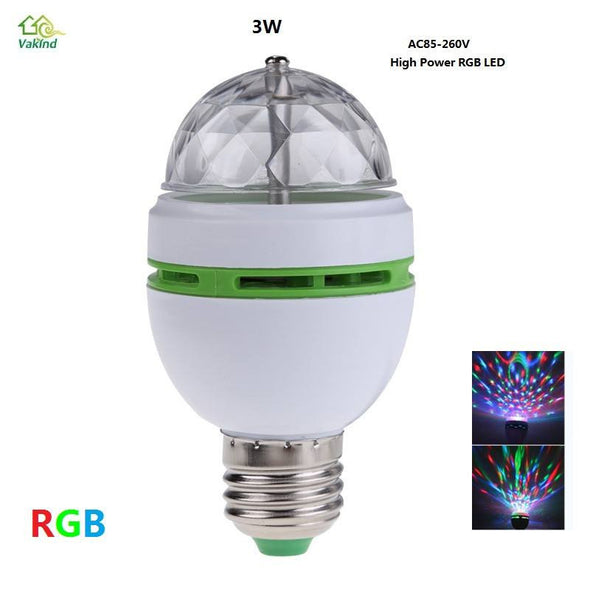 High Power Rotating DJ Disco Club Party PUB LED Bulb