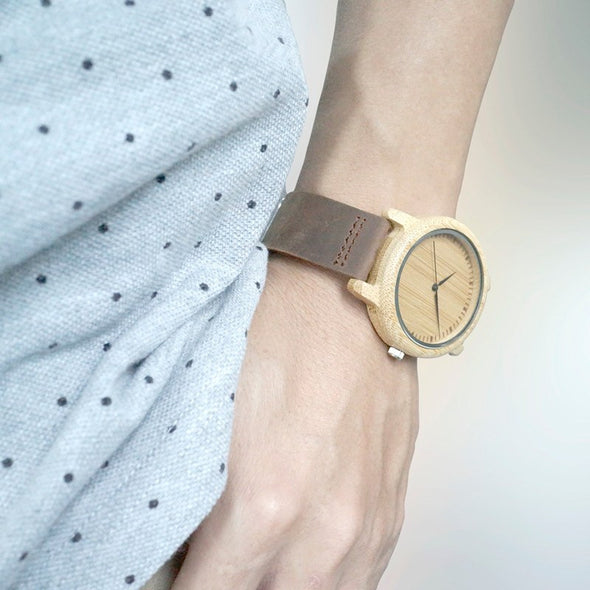 Classica - Natural Wooden Watch