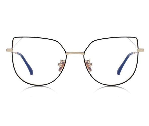 Snazzy - Classic Cat Eye Frame Anti-Blue Light Optical Glasses