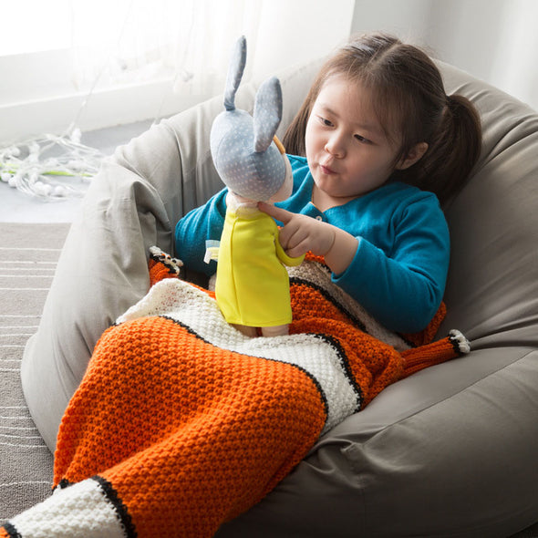 Kids Nemo Fish Tail Blanket