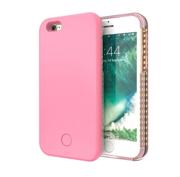 LED Flash Lighting Selfie Case