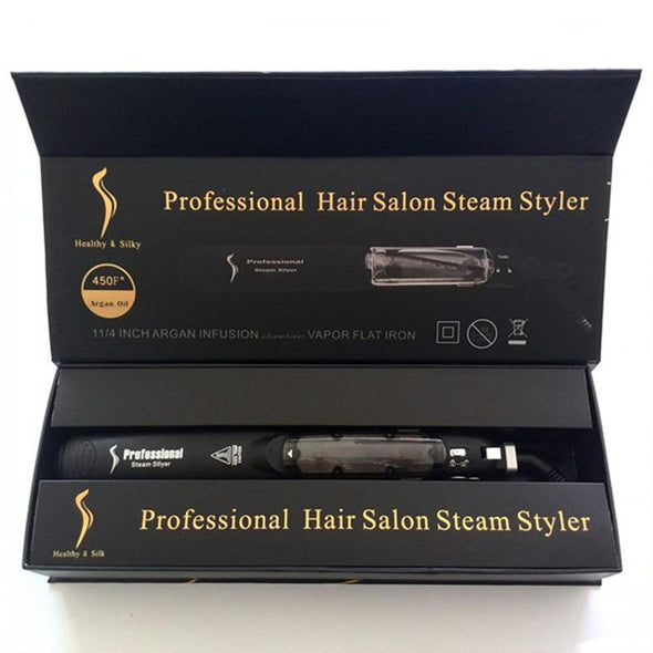 SWS™ Salon Professional Steam Hair Straightener V2