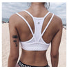 SASHA - Knitted Cross Backless Yoga Workout Top
