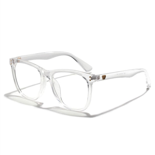 Kurt - Vintage Anti-Blue Ray Clear Glasses