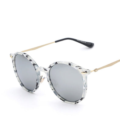 The Artist 2 - Retro Designer Circle Sunglasses