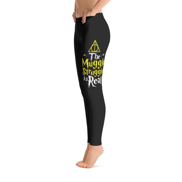 The Muggle Struggle Is Real Leggings