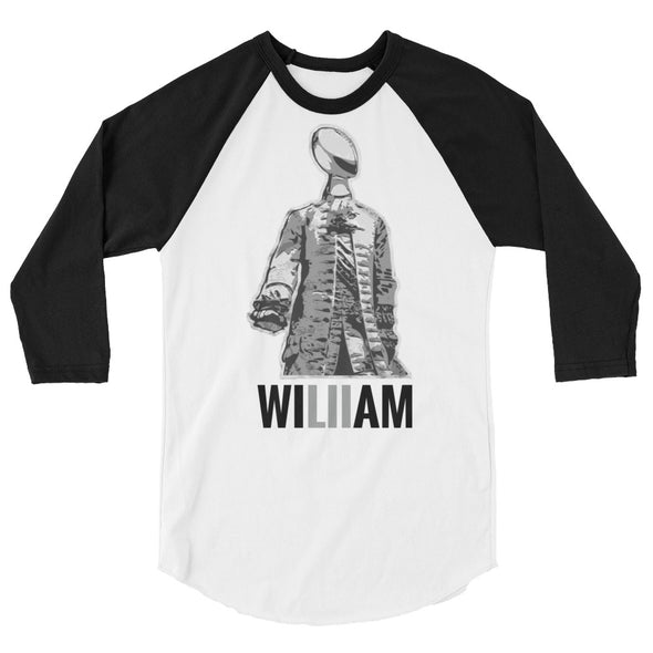 William 3/4 raglan shirt
