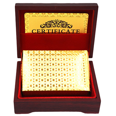 24K Gold Foil Poker Playing Cards™