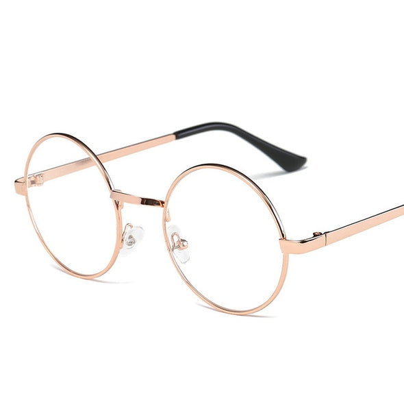 Miss Potter - Clear Round Glasses