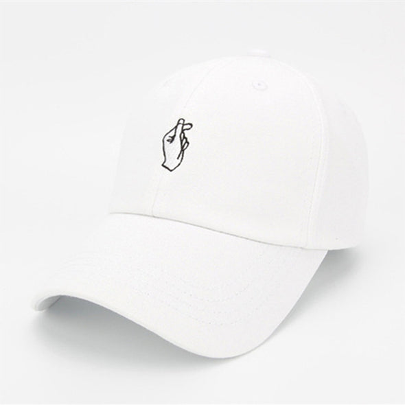 Finger Snap Dad Hat