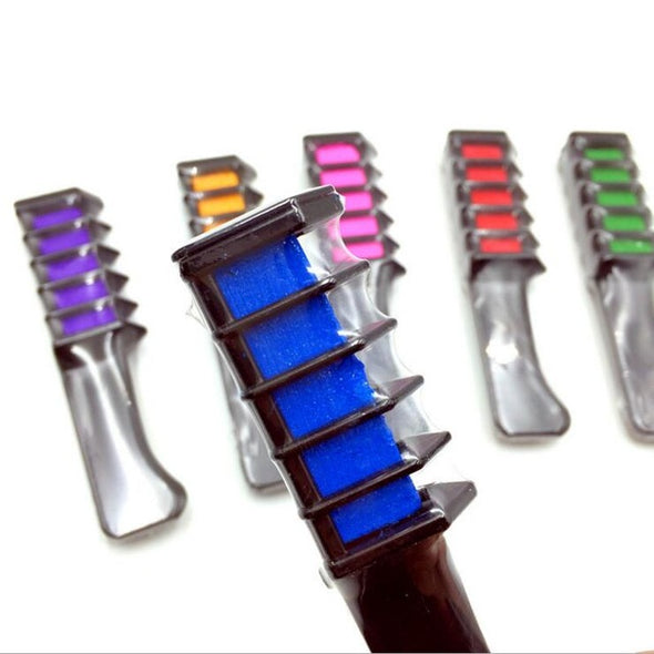 SWS Color Hair Chalk Comb