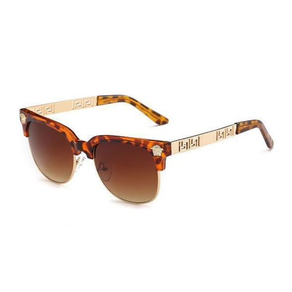 Medusa - Retro Rivet Sunglasses