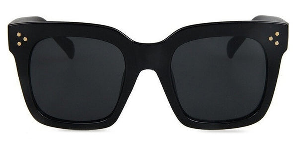 Freya -  Flat Top Oversized Square Sunglasses