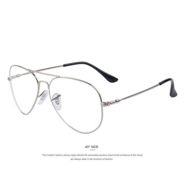 Street Fly - Titanium Clear Lens Sunglasses