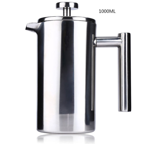 Double Wall Stainless Steel French Coffee Press