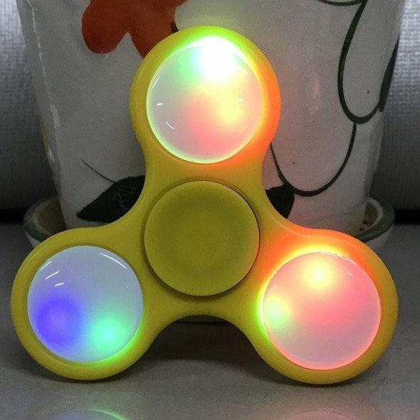 LED Light Hand Fidget Spinner