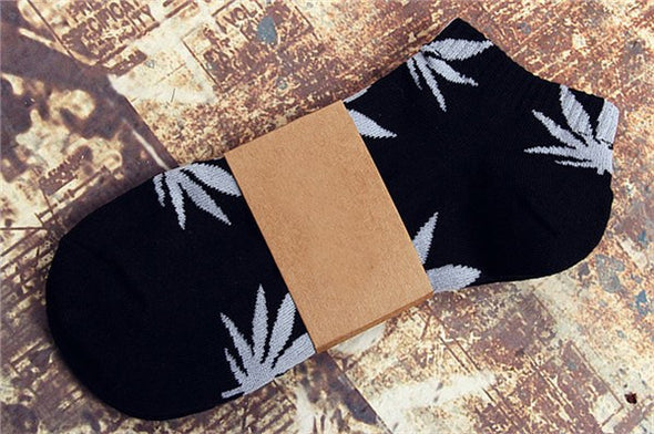 Unisex Low-Cut Weed Socks