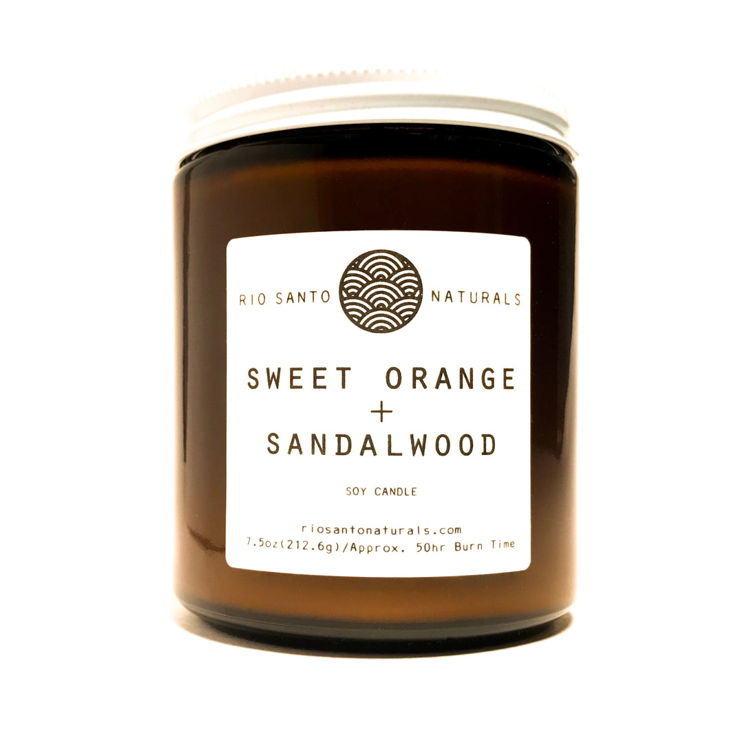 Sweet Orange + Sandalwood