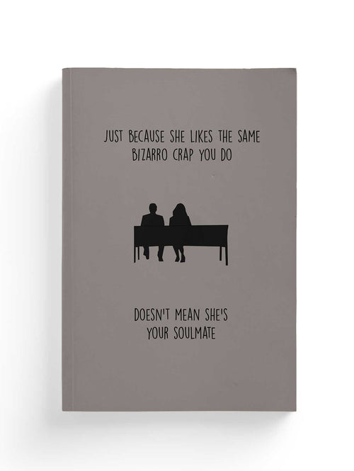 500 Days of Summer Minimalistic Composition Notebook-Notebit