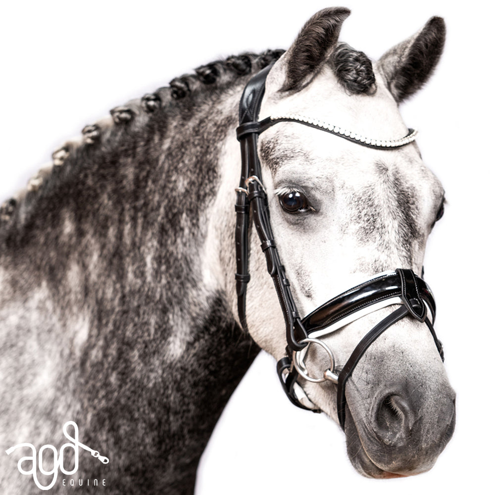 AGD PONY SNAFFLE | B&W | Patent