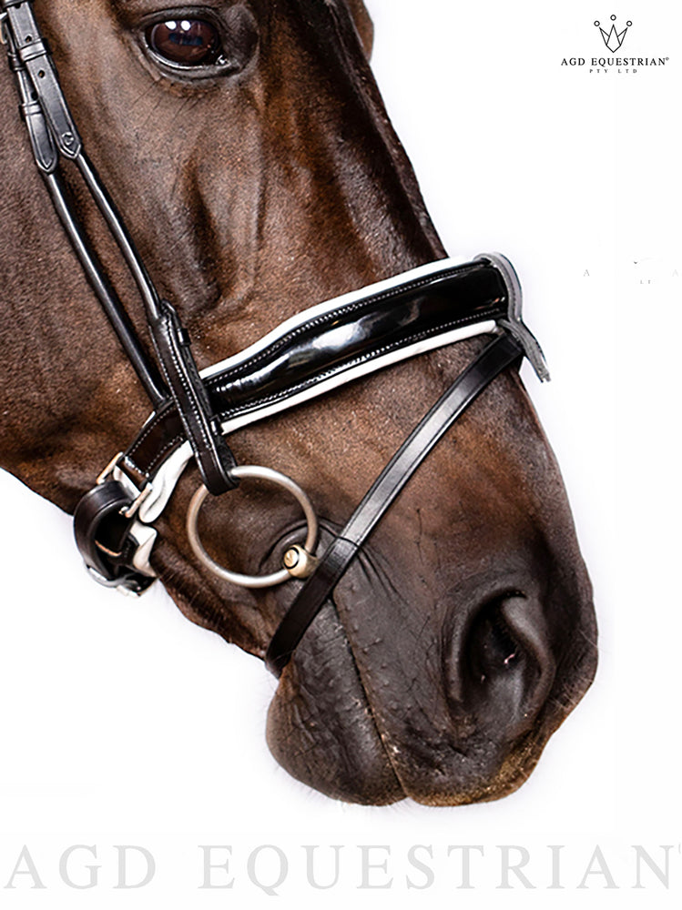 Rolled Convertible Noseband | B&W Patent | Marked