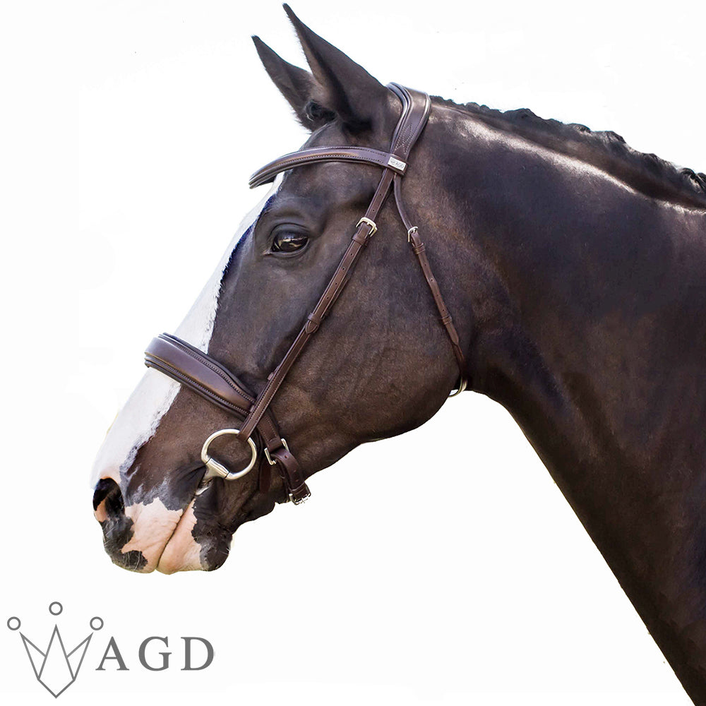 Laura's AGD CLASSIC SNAFFLE | Havana | Matte | CAVESSON