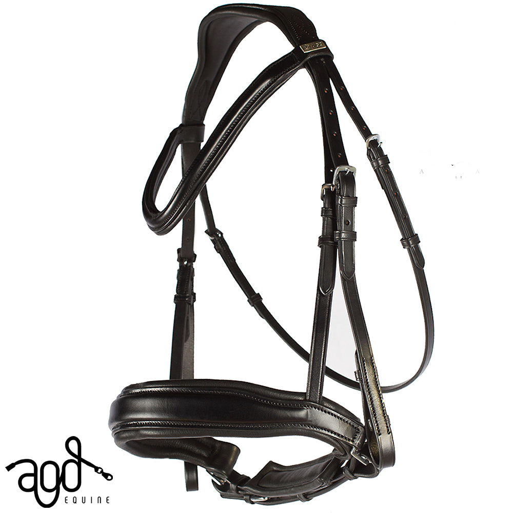 Mel's AGD CLASSIC SNAFFLE | Black | Matte | CAVESSON