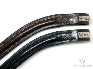 Melanie's Discontinued Convertible Noseband | Black | Exotic Matte
