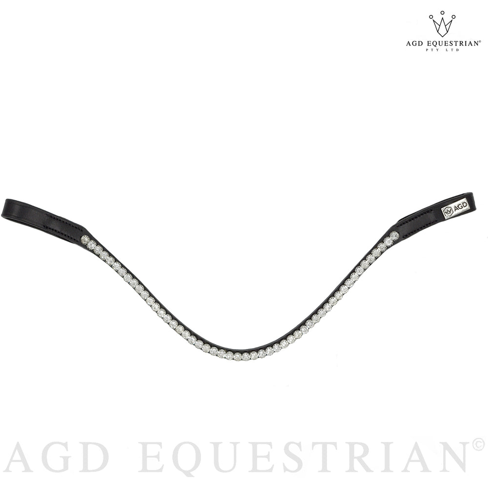 AGD ENGLISH CLASSIC SNAFFLE | Black | Matte | Sleek