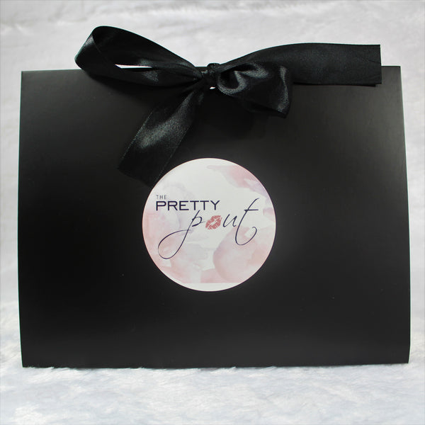 Matte Black Peekaboo Box