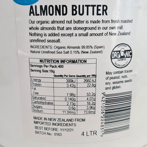 Almond Butter, Organic - Chantal