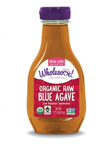Raw Blue Agave Syrup Organic 333g - Wholesome