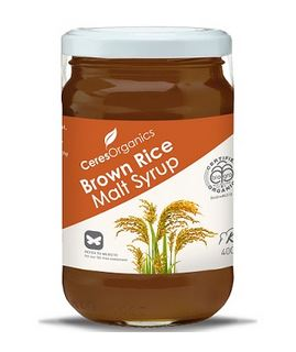 Brown Rice Malt Syrup - Organic - 400g - Ceres