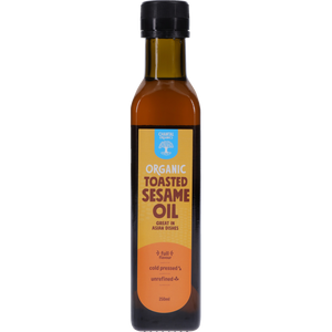Sesame Oil Toasted Organic 250ml - Chantal Organics
