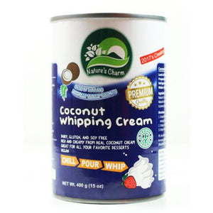 Coconut Whipping Cream 400g - Nature's Charm