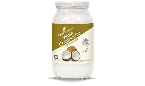 Coconut Oil - Virgin Cold Press - Organic - 600g