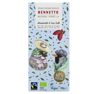 Bennetto Amaranth & Sea Salt 100g