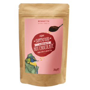 Bennetto Superfood Hot Chocolate Powder 250g