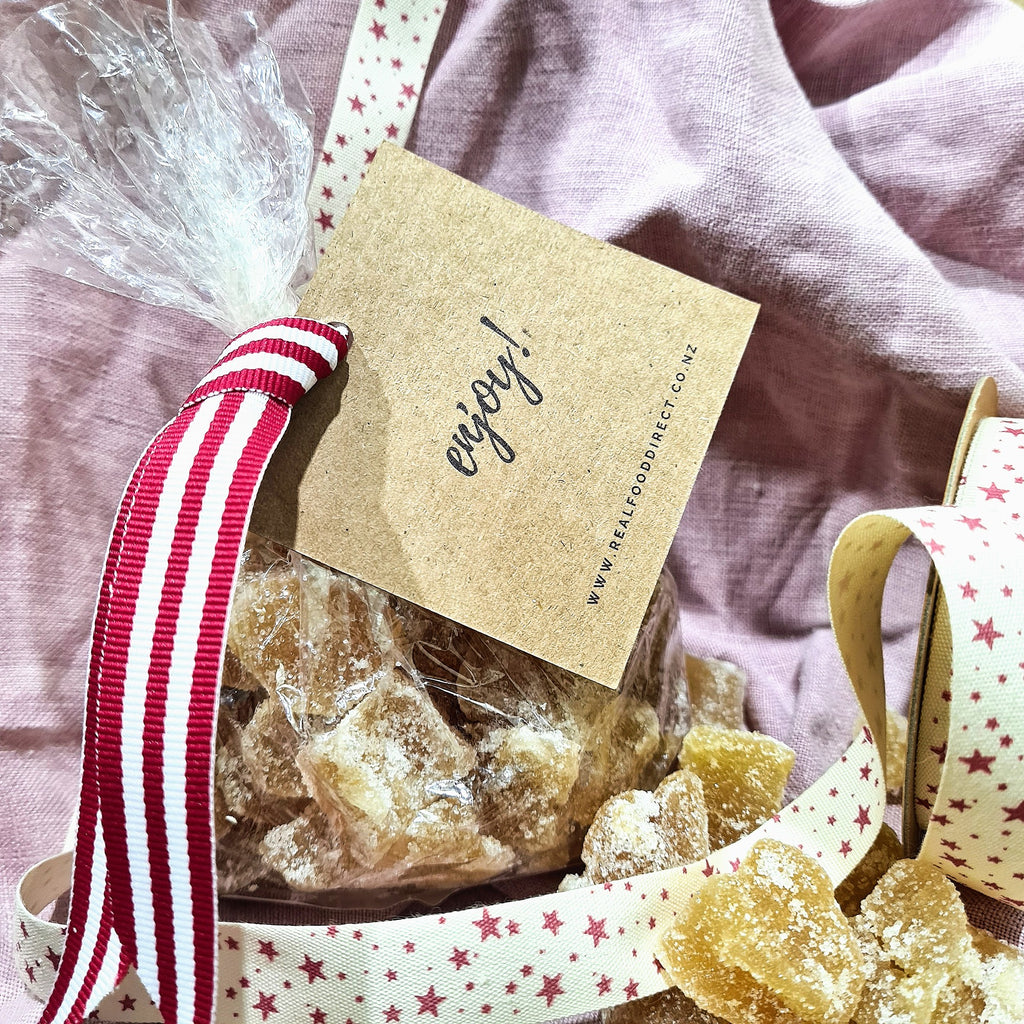 Gift Bag - Crystallised Ginger - 250g