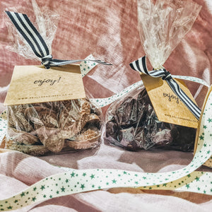 Gift Bag - Dark Chocolate Ginger - 250g